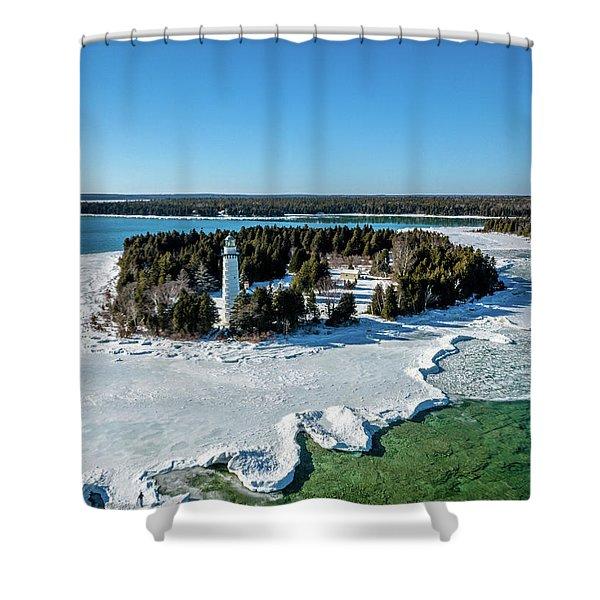 Cana Island Shower Curtain