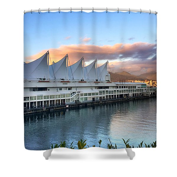 Canada Place Shower Curtain