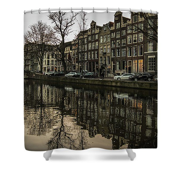Canal House Reflections Shower Curtain