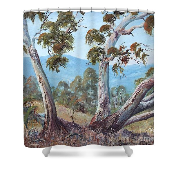 Canberra Hills Shower Curtain