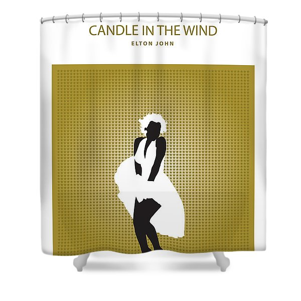 Candle In The Wind -- Elton John Shower Curtain