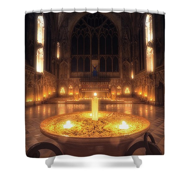 Candlemas - Lady Chapel Shower Curtain