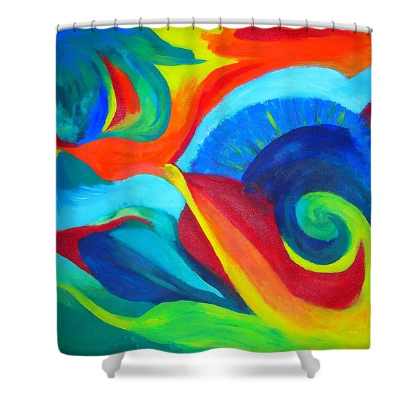 Candy Flip Shower Curtain