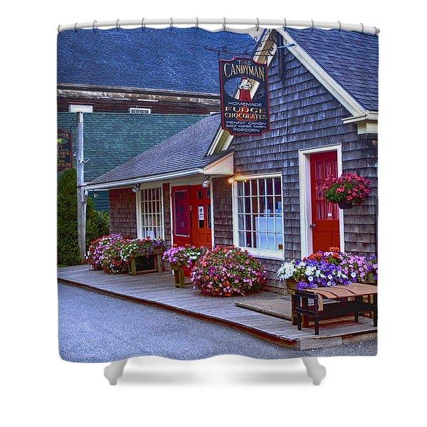 Candy Lane Shower Curtain