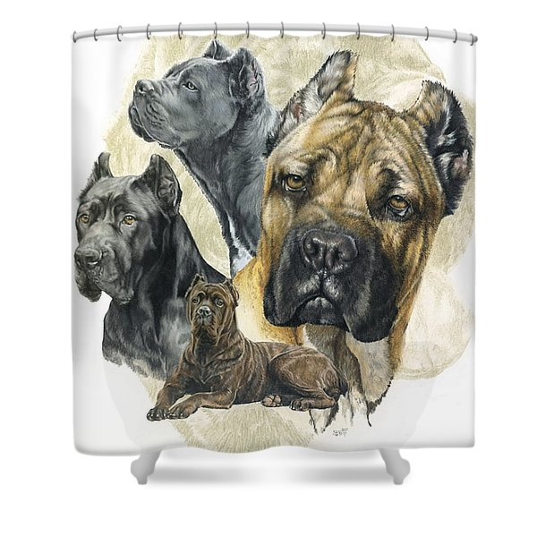Cane Corso Medley Shower Curtain
