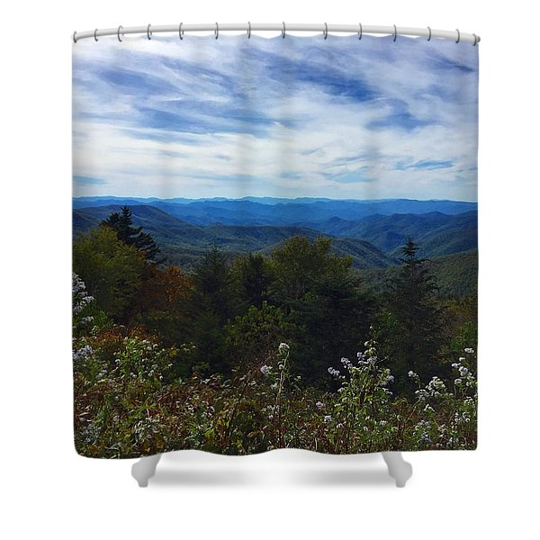 Caney Fork Overlook Shower Curtain
