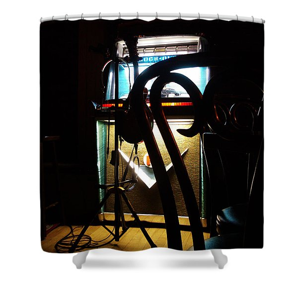 Canned Music Shower Curtain