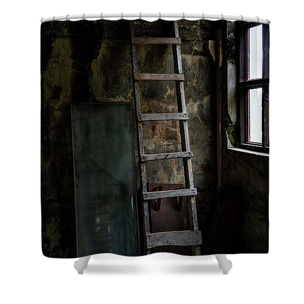 Cannery Ladder Shower Curtain