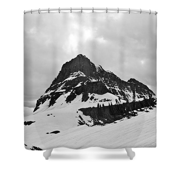 Cannon Mountain Shower Curtain