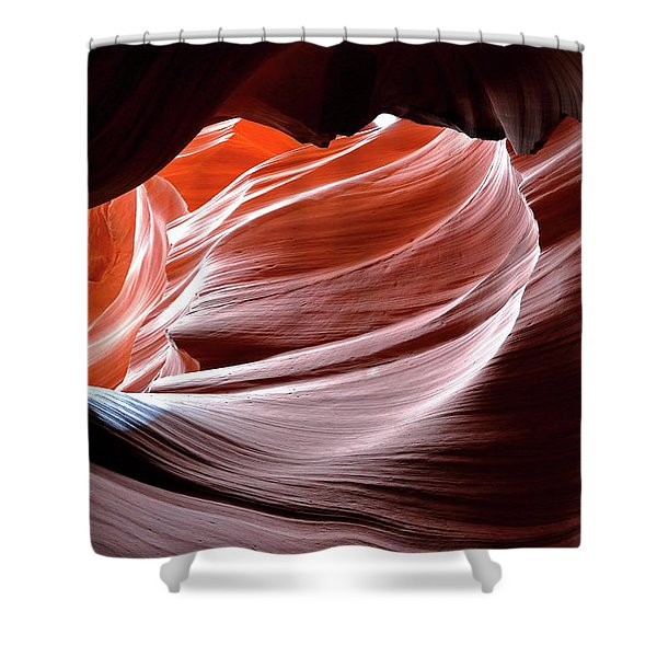 Canyon Abstract 2 Shower Curtain