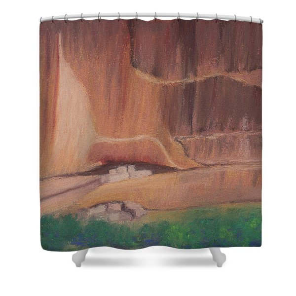 Canyon De Chelly Cliffdwellers #2 Shower Curtain
