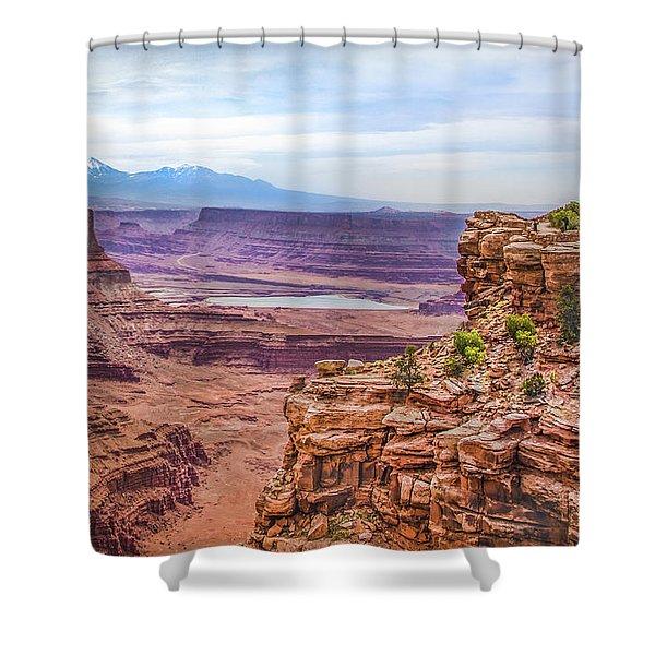 Canyon Landscape Shower Curtain