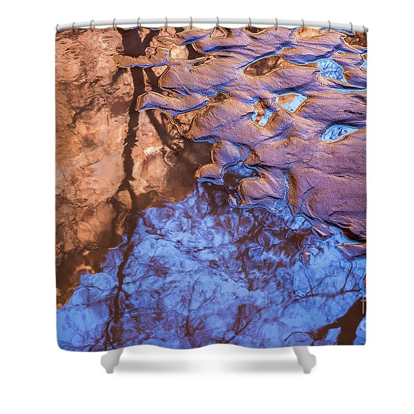 Canyon Reflections Shower Curtain