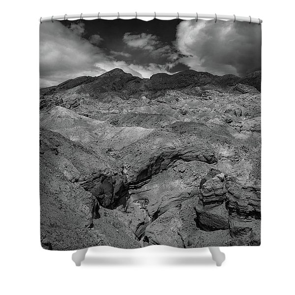 Canyon Relief Shower Curtain