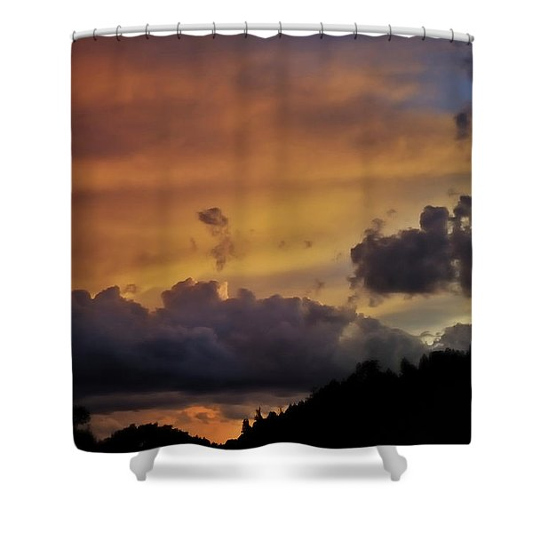 Canyon Sunset Shower Curtain