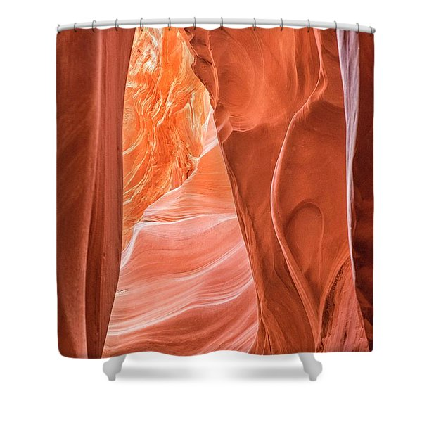 Canyon Textures Shower Curtain