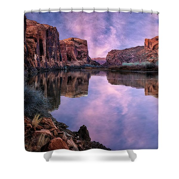 Canyonlands Sunset Shower Curtain