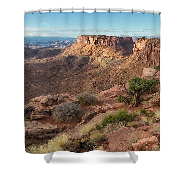 Canyonlands View Shower Curtain