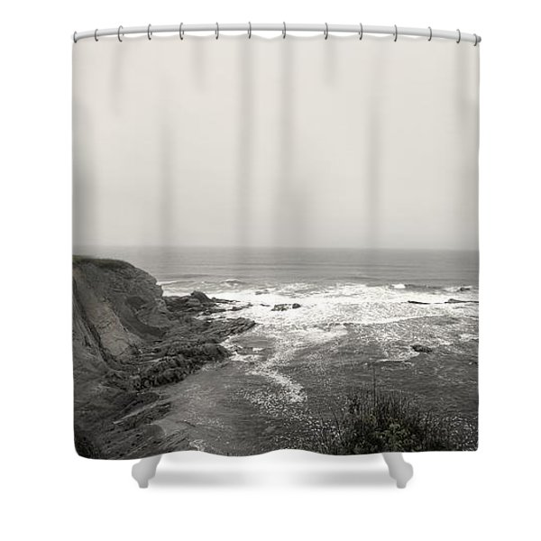 Cap Des Rosiers Shower Curtain