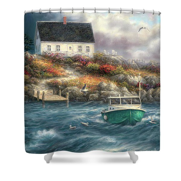 Cape Cod Afternoon Shower Curtain