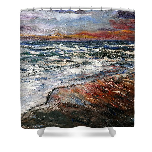Cape Cod Sunset 1 Shower Curtain