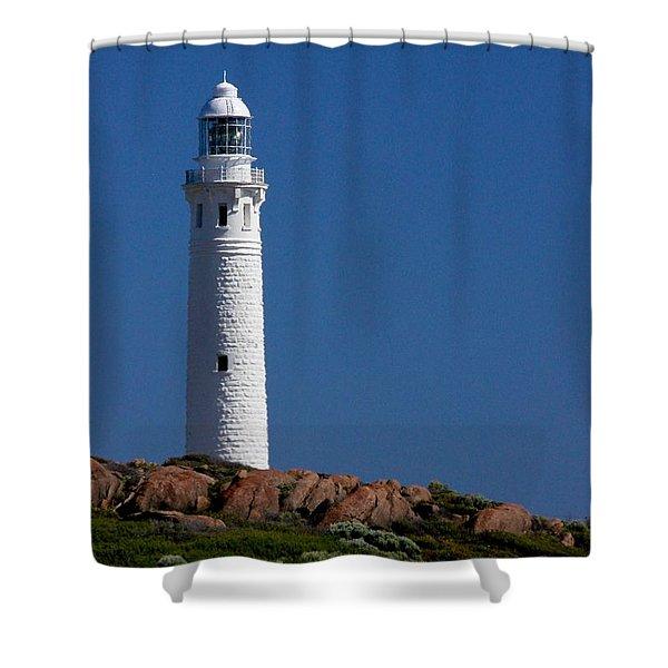 Cape Leeuwin Light House Shower Curtain