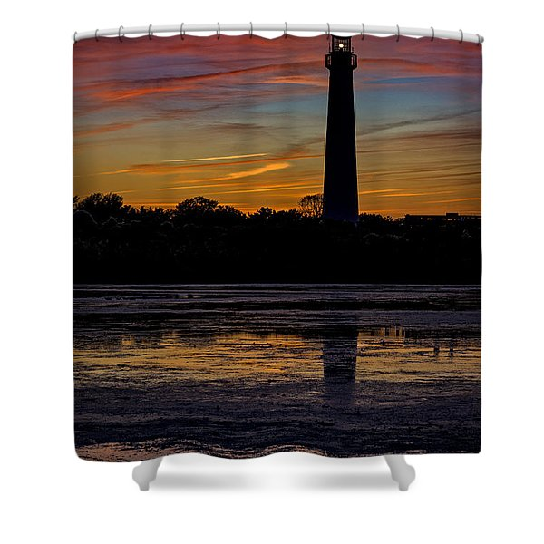 Cape May Afterglow Shower Curtain