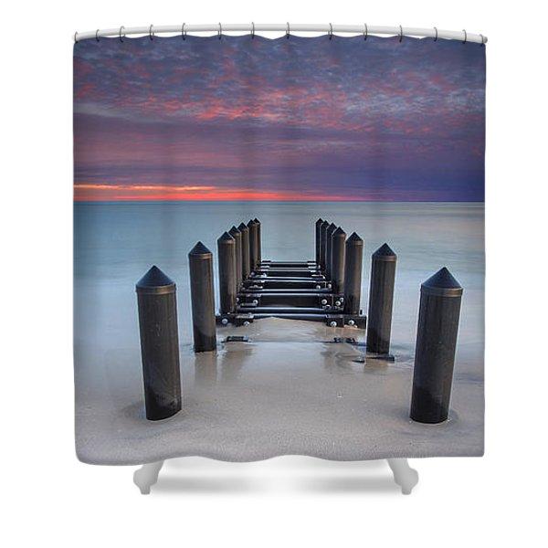 Cape May Beach Shower Curtain