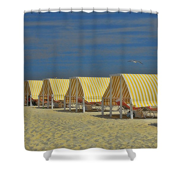 Cape May Cabanas 6 Shower Curtain