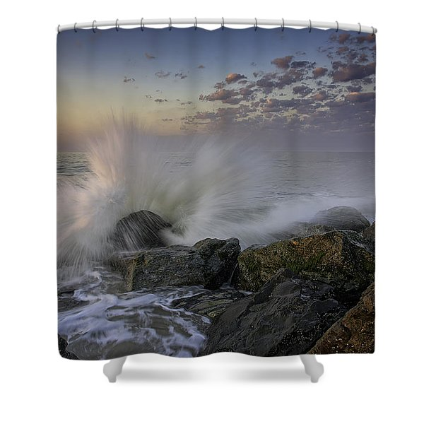 Cape May High Tide Shower Curtain