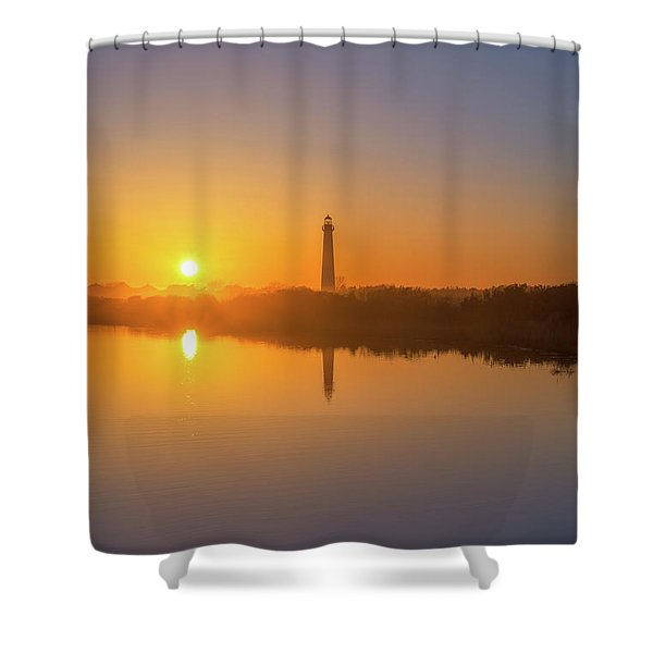 Cape May Reflections  Shower Curtain
