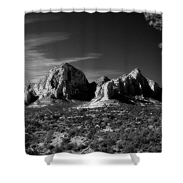 Capital Dome I Shower Curtain