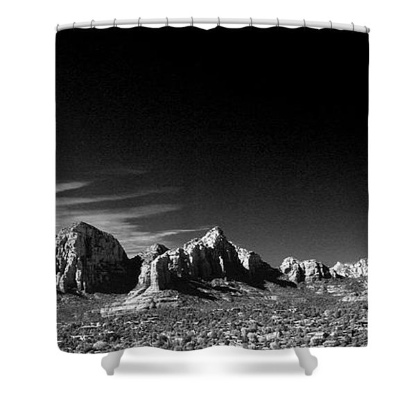 Capital Dome 3 Shower Curtain