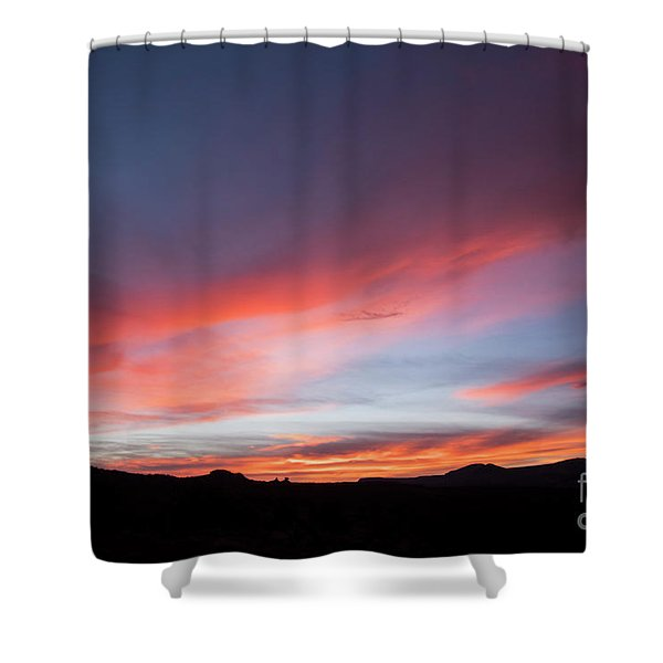 Capital Reef Sunset Shower Curtain