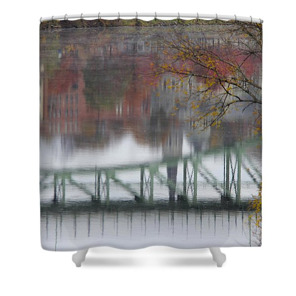 Capital Reflection Shower Curtain