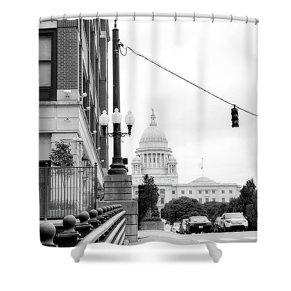 Capital View Shower Curtain
