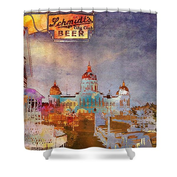 Capitol City Shower Curtain