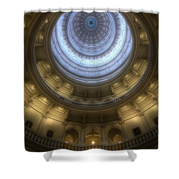 Capitol Dome Interior Shower Curtain