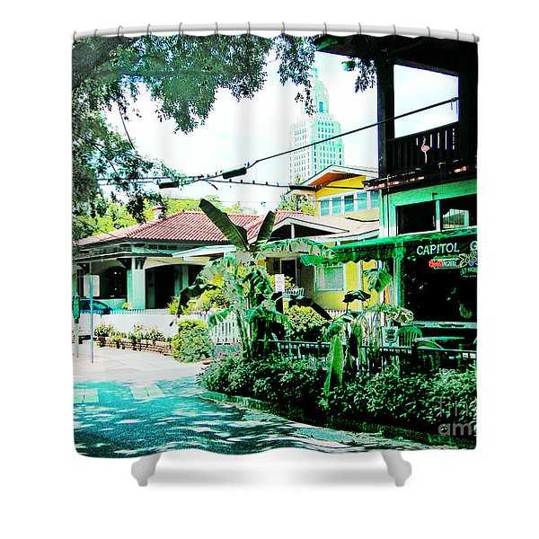Capitol Grocery Spanish Town Baton Rouge Shower Curtain