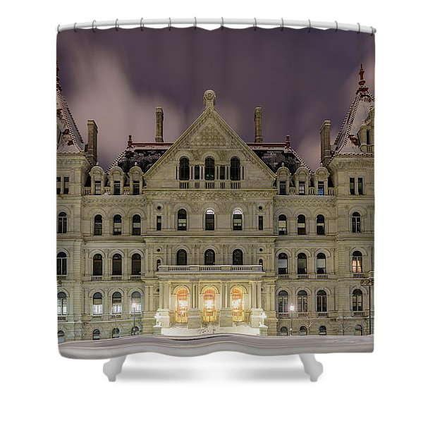 Capitol Snow Shower Curtain