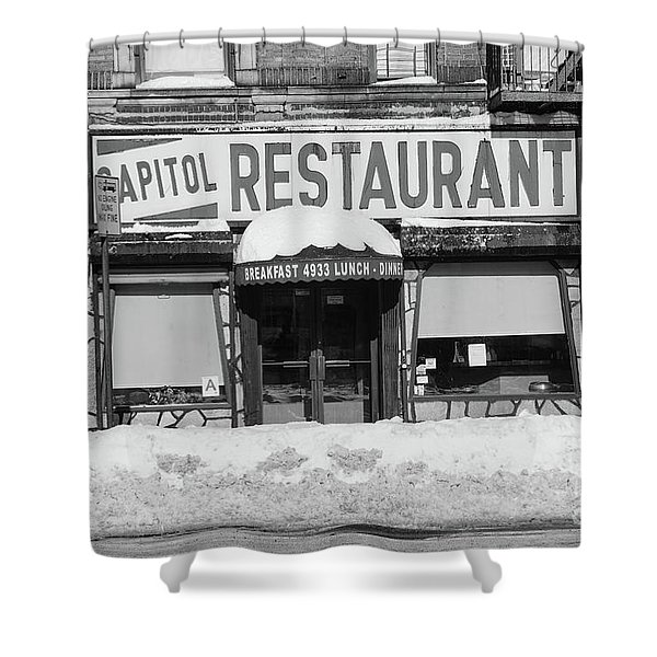 Capitol Winter Shower Curtain