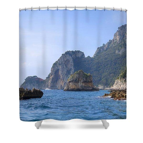 Capri - Naples Shower Curtain