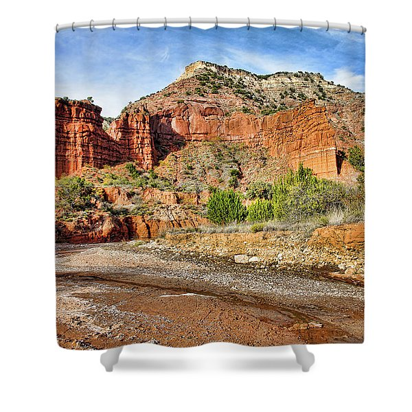 Caprock Canyon Shower Curtain