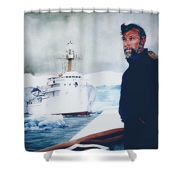 Capt Derek Law Shower Curtain