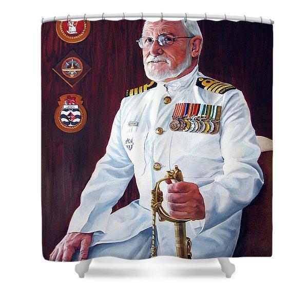 Capt John Lamont Shower Curtain
