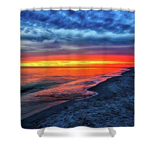 Captiva Island Sunset Shower Curtain