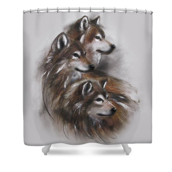 Captivated Shower Curtain