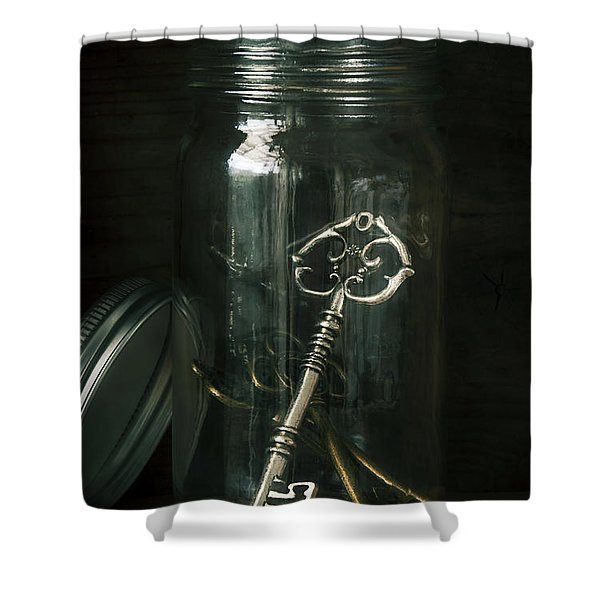 Captive Shower Curtain