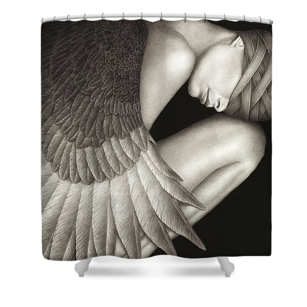 Captivity Shower Curtain