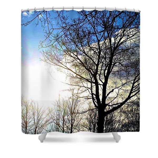 Capturing The Morning Sun Shower Curtain